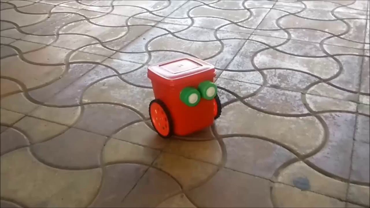 DIY Robots For Kids  How To Make Simple DIY Robot for Kids Mr Red Robot Do it