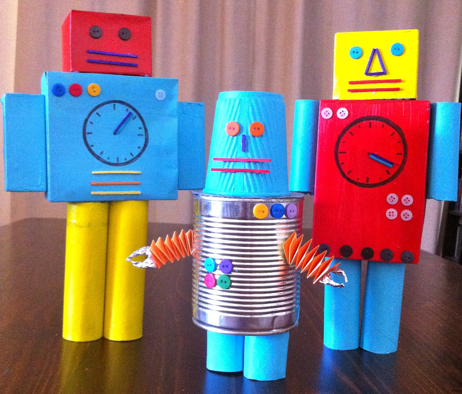 DIY Robots For Kids  look love create The Robot Book by Heather Brown