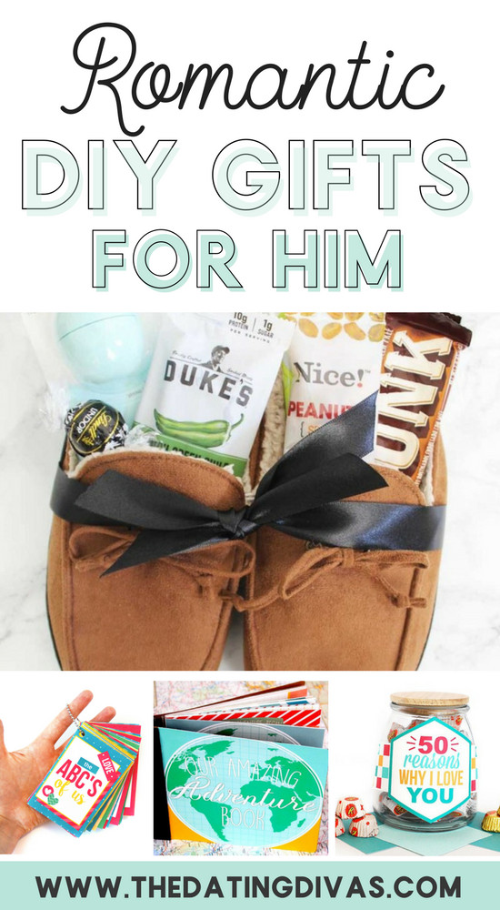 DIY Romantic Gifts  100 Romantic Gifts for Him From The Dating Divas