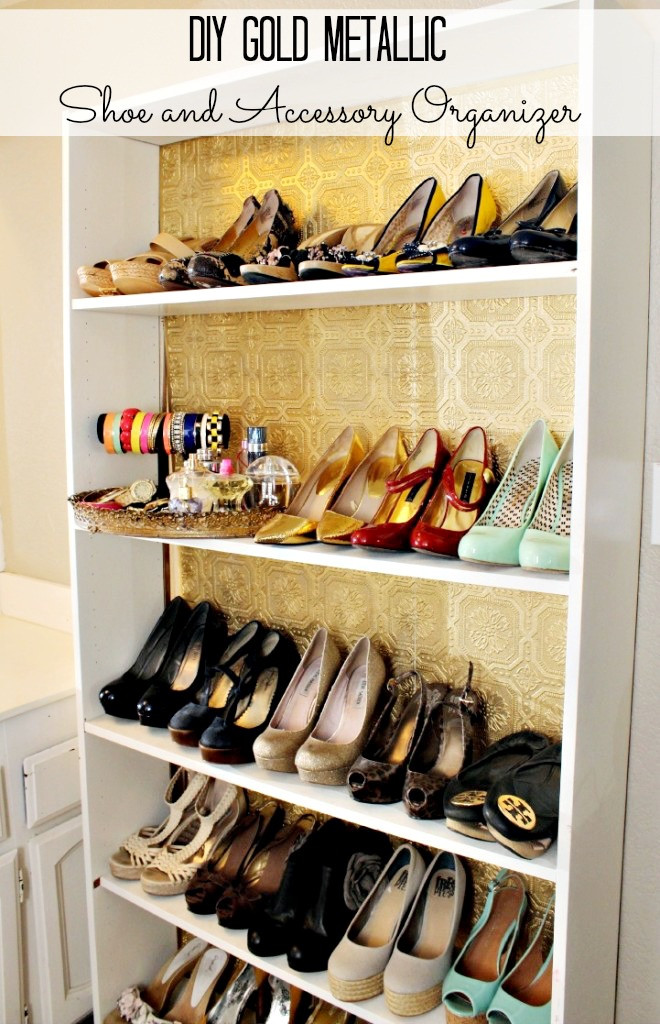 DIY Shoe Organizer Ideas  How to Organize Your Shoes Classy Clutter