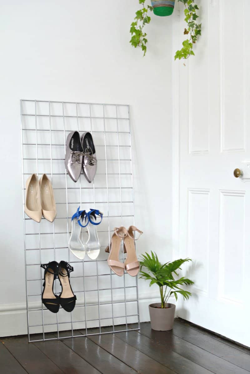 DIY Shoe Organizer Ideas  10 Genius DIY Shoe Storage Ideas That Will Impress You