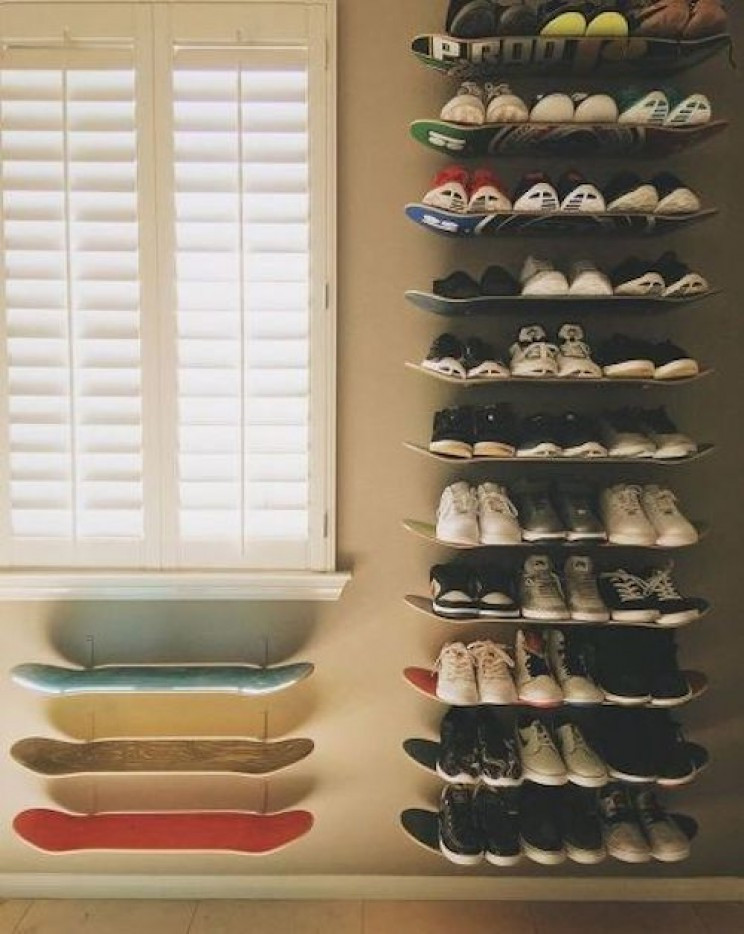DIY Shoe Organizer Ideas  15 Excellent DIY Shoe Storage Projects to Get Your