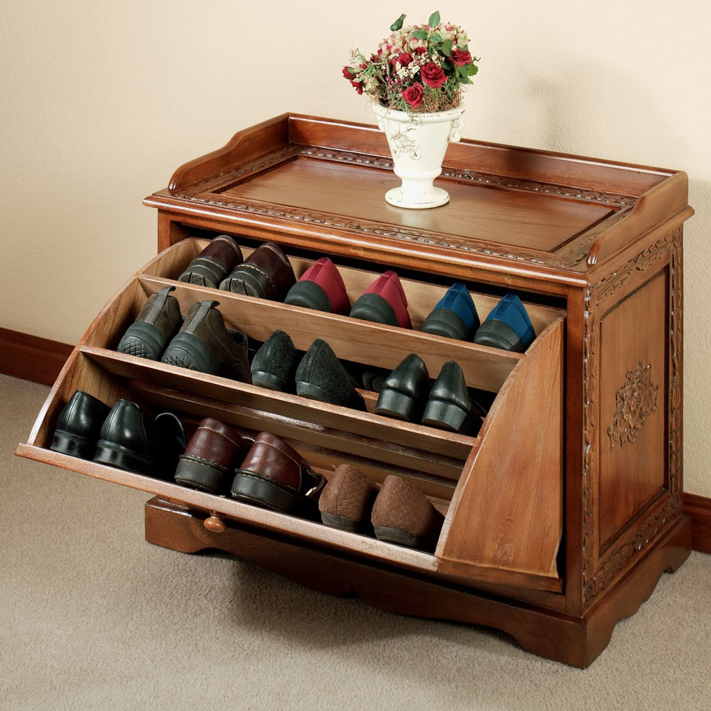 DIY Shoe Organizer Ideas  Interior Design Styles Ideas DIY Shoe Organizer Designs