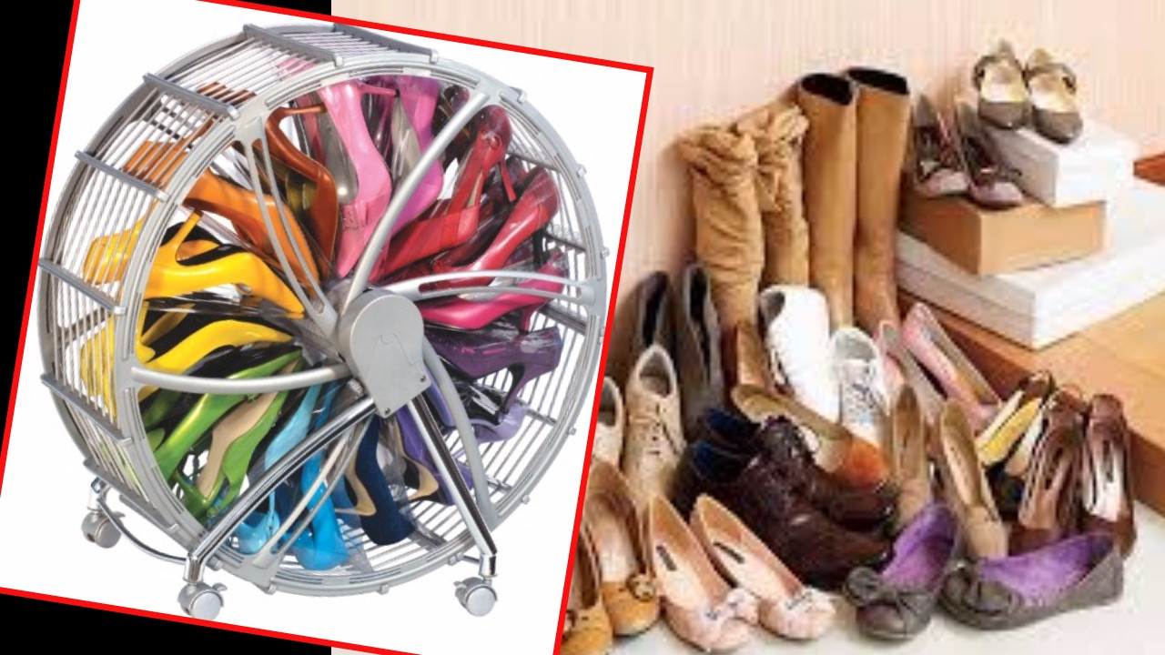 DIY Shoe Organizer Ideas  30 Creative Shoe Storage Ideas DIY Shoe Organizer