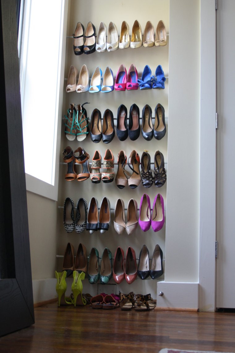 DIY Shoe Organizer Ideas  15 Clever DIY Shoe Storage Ideas Grillo Designs