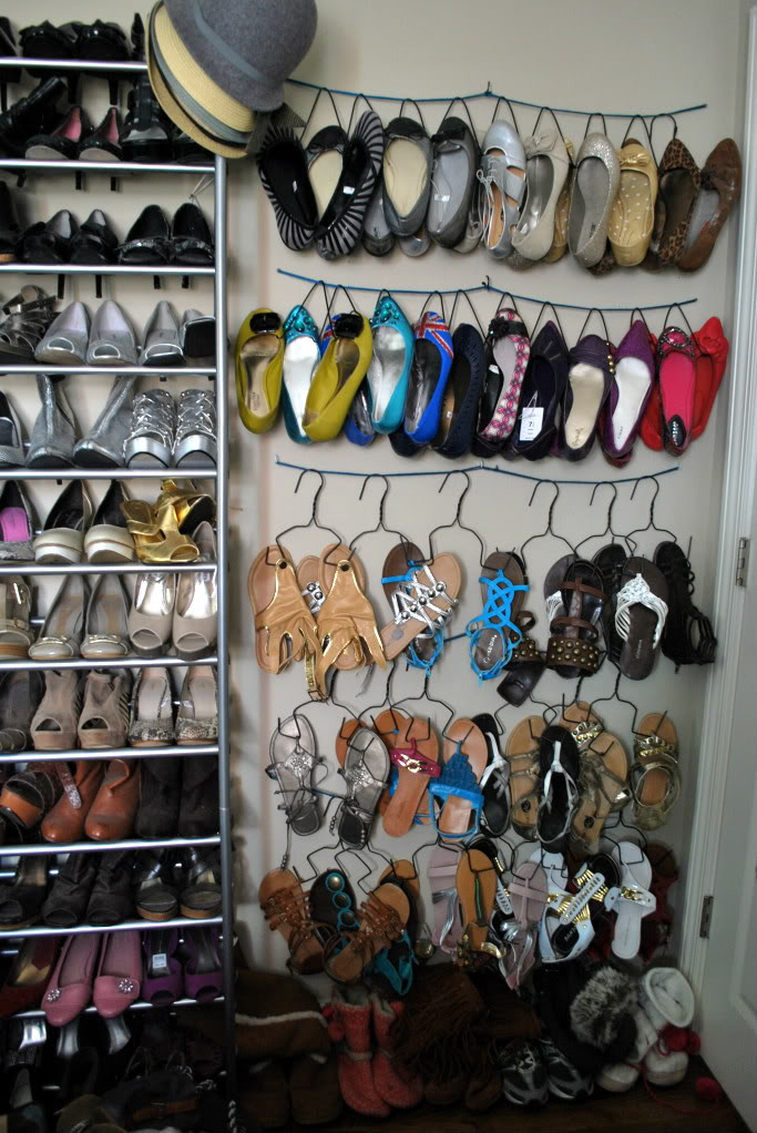 DIY Shoe Organizer Ideas  Remodelaholic