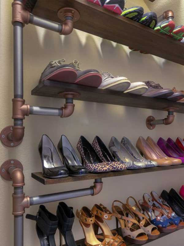 DIY Shoe Organizer Ideas  28 Clever DIY Shoes Storage Ideas That Will Save Your Time