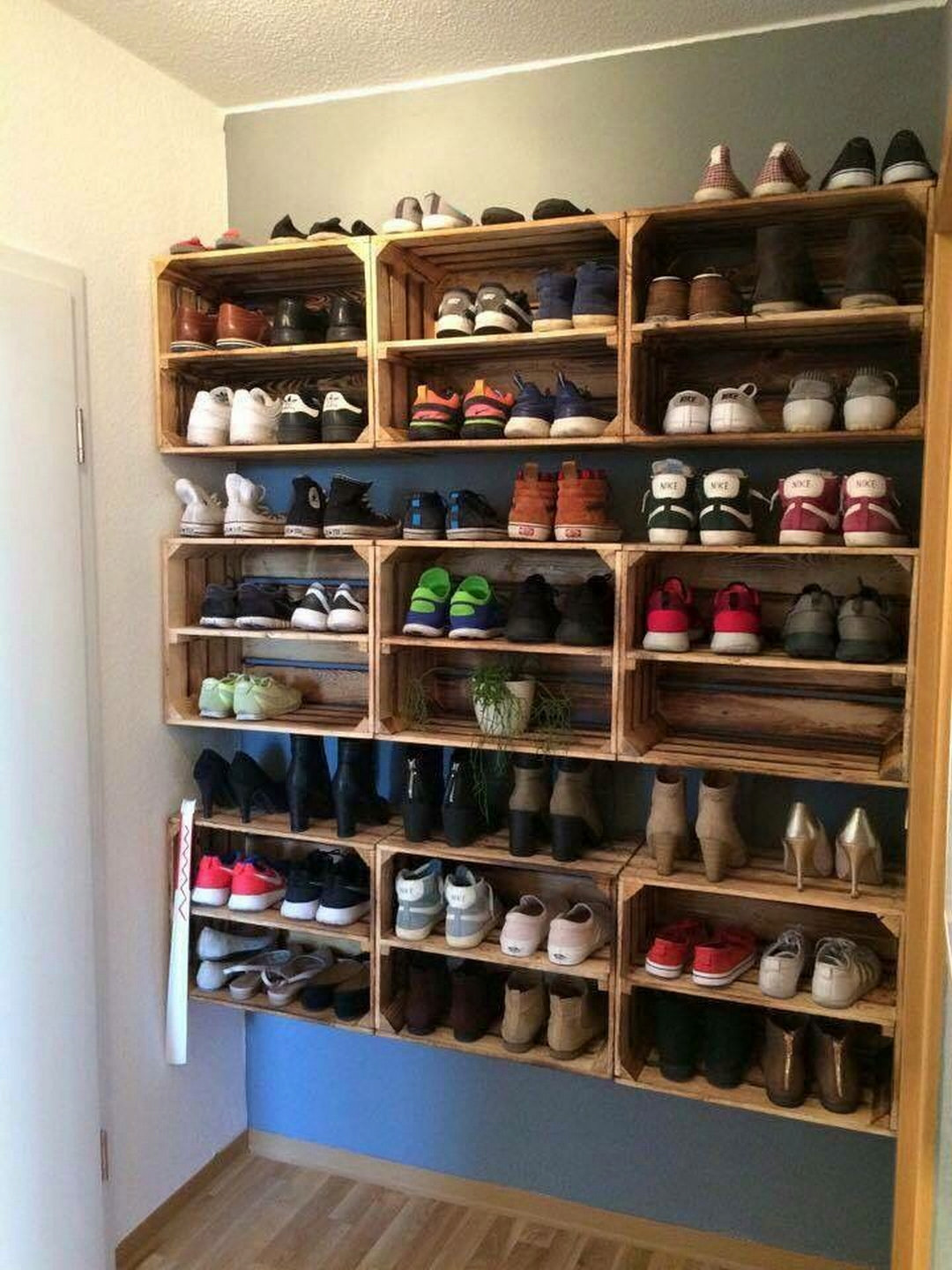 DIY Shoe Rack For Small Closet  Practical Shoes Rack Design Ideas for Small Homes