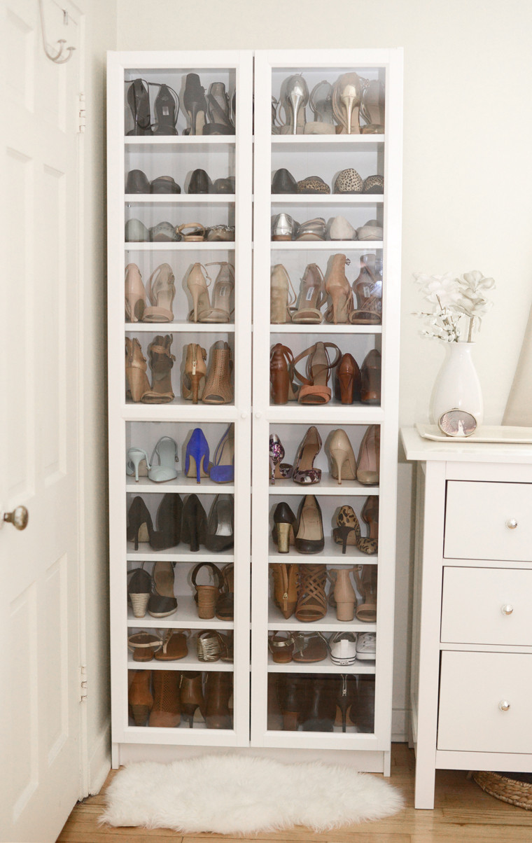 DIY Shoe Rack For Small Closet  40 Creative Ways to Organize your Shoes