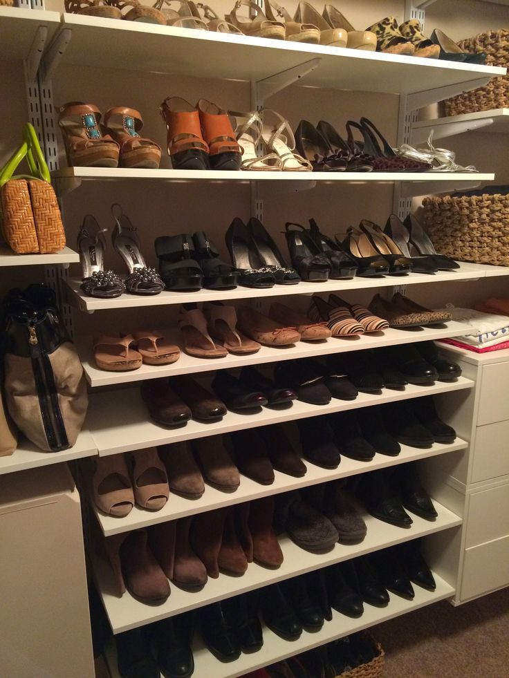 DIY Shoe Rack For Small Closet  How to Store and Organize Shoes in a Closet HOME