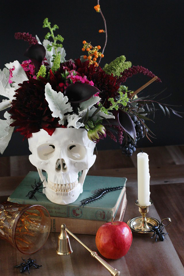DIY Skull Decor  Explore Your Dark Side – How To Decorate With Skulls