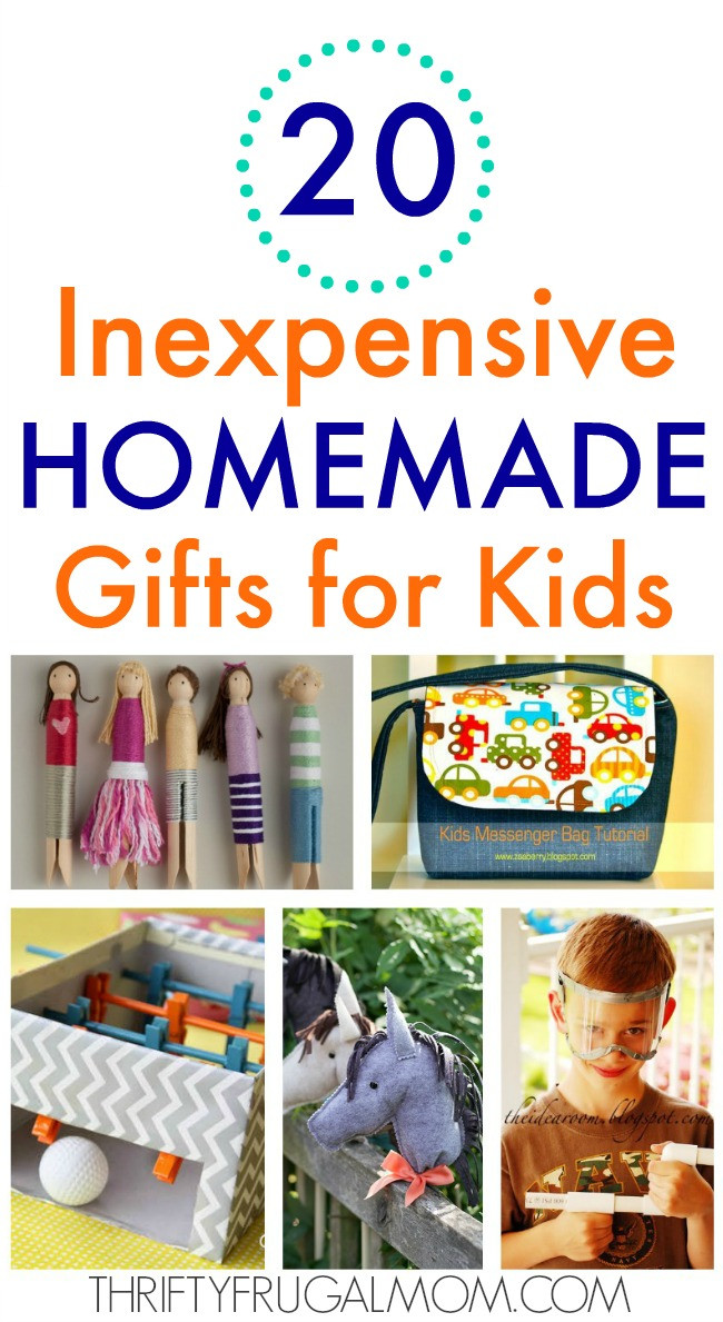 DIY Stuff For Kids  20 Inexpensive Homemade Gifts for Kids