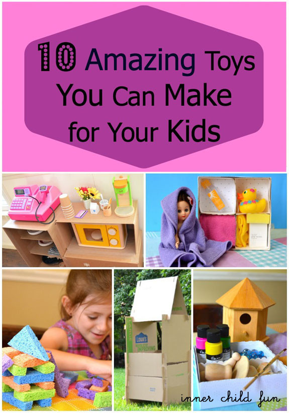 DIY Stuff For Kids  10 Amazing Toys You Can Make For Your Kids Inner Child Fun