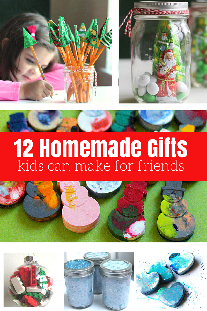DIY Stuff For Kids  12 Homemade Gifts Kids Can Help Make For Friends and