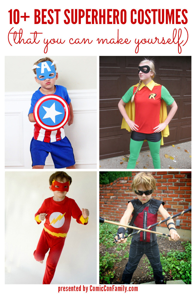 DIY Superhero Costumes For Kids  10 Best Superhero Costumes that you can make yourself