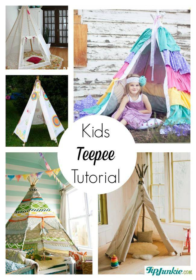 DIY Tent For Kids  11 Easy DIY Play Tents for Kids – Tip Junkie