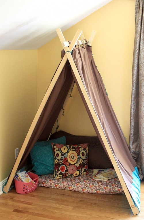 DIY Tent For Kids  10 Cool DIY Play Tents For Your Kids