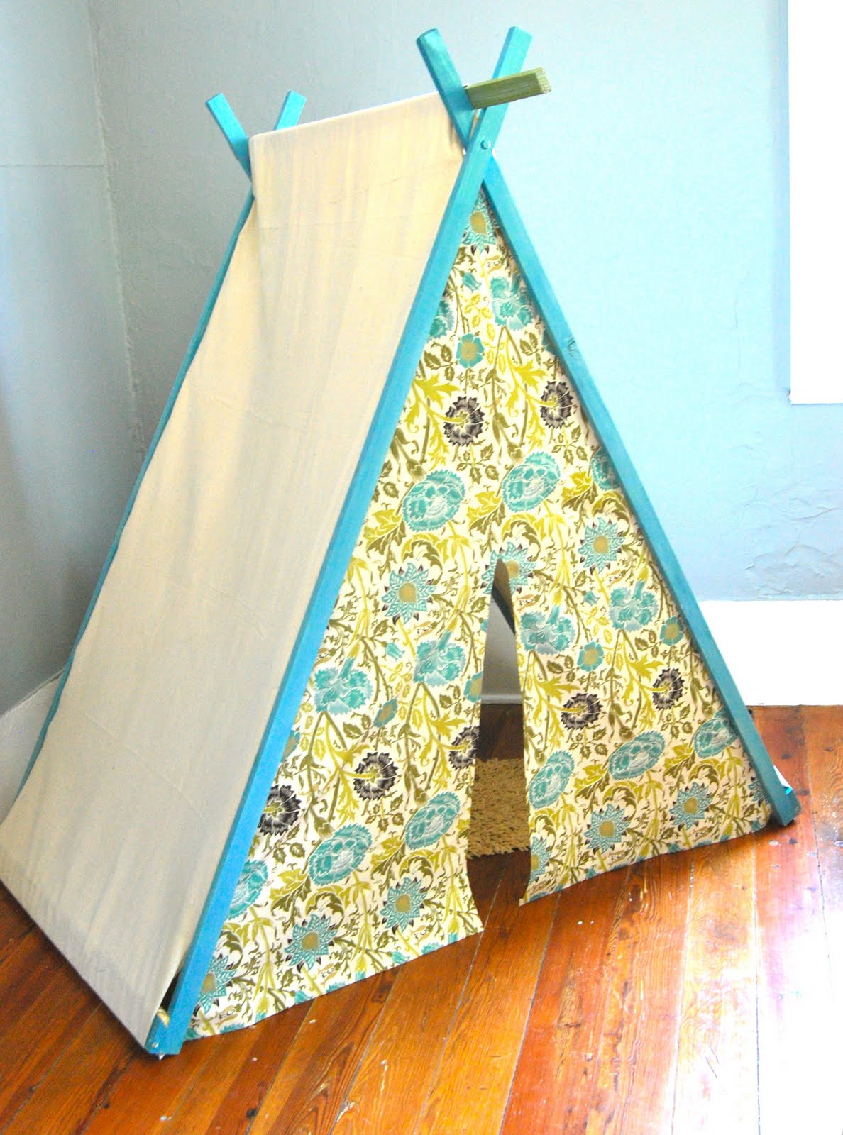 DIY Tent For Kids  The Feminist Housewife DIY Play Tent