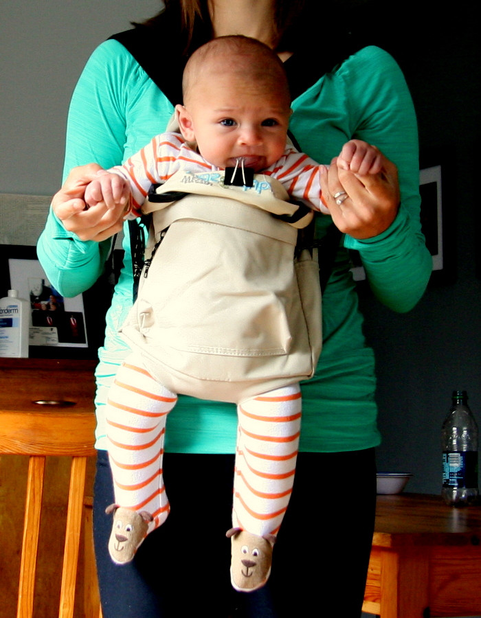DIY Toddler Carrier  jewleycreations DIY Baby Carrier II The Baby Backpack