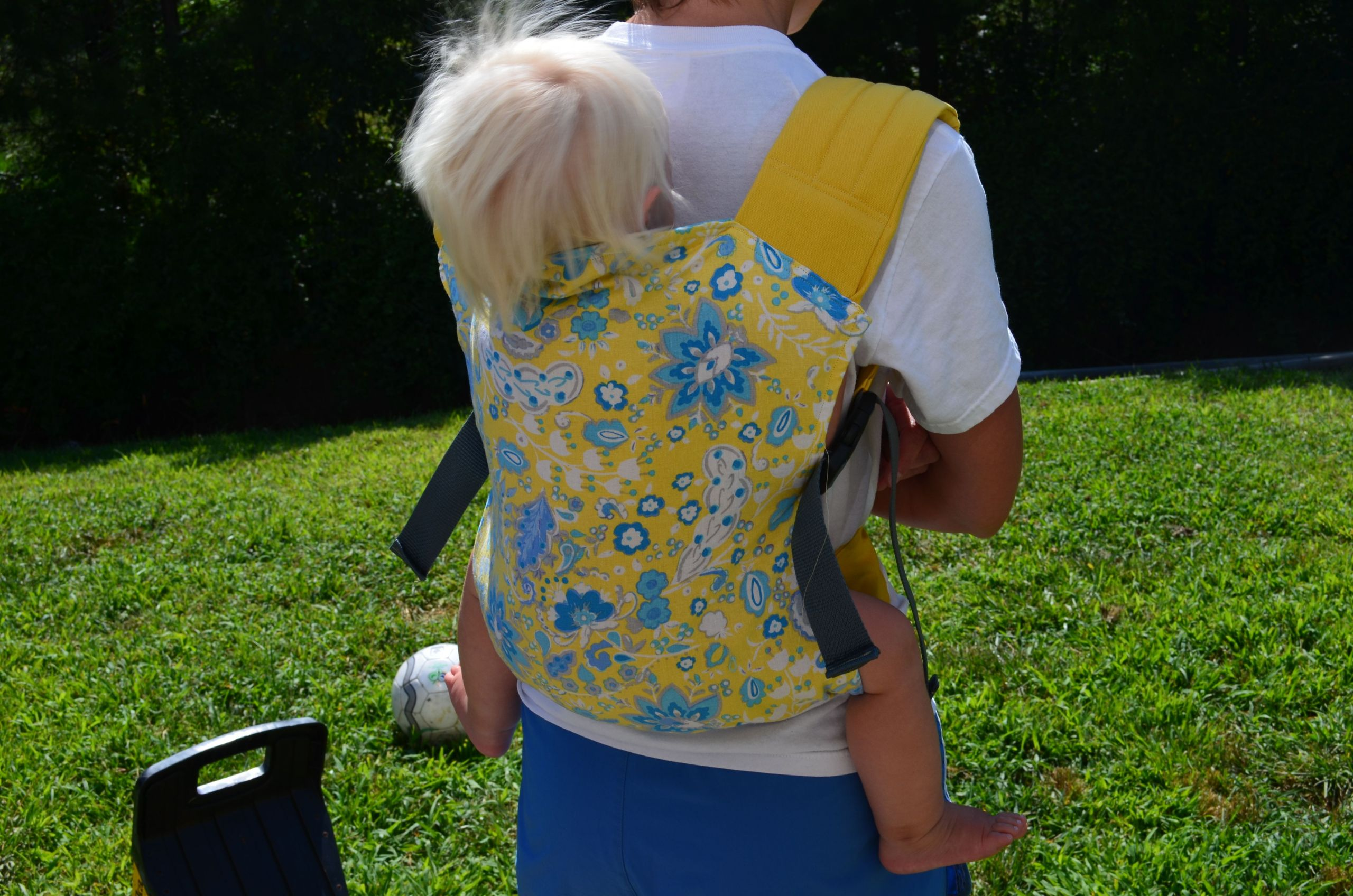 DIY Toddler Carrier  Adventures in Carrier Making A Brief Guide to DIY