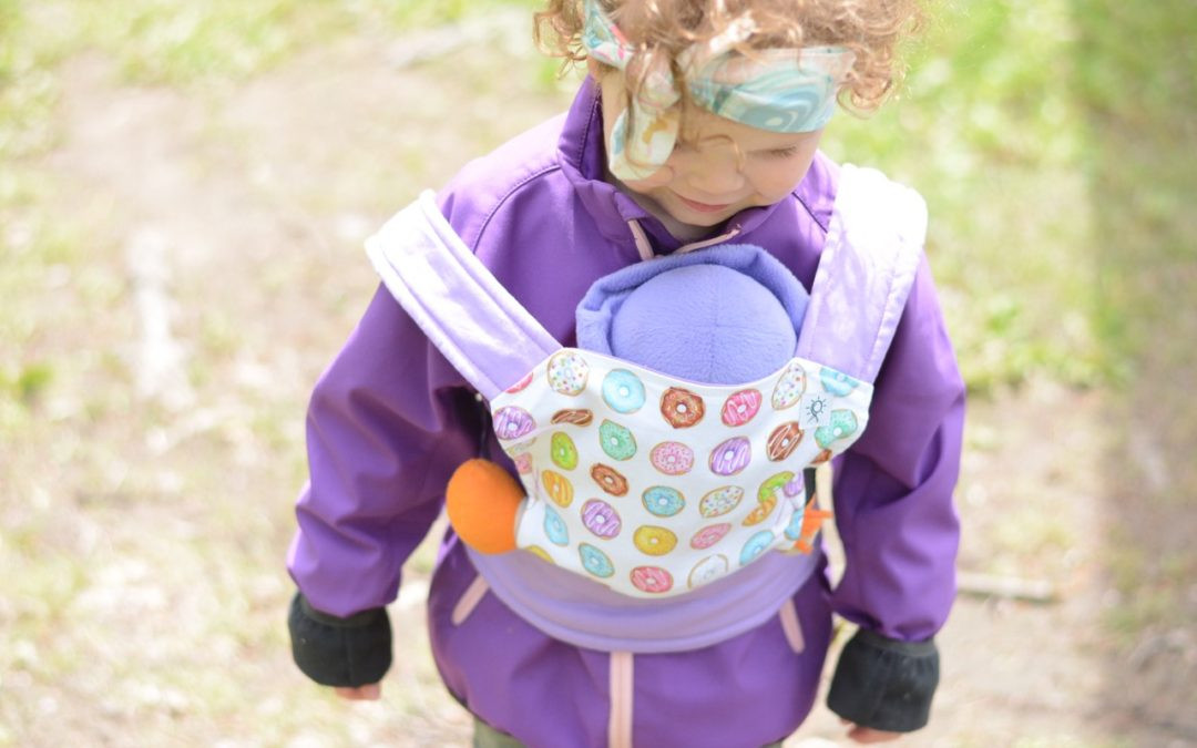 DIY Toddler Carrier  DIY Baby Doll Carrier Sew Bright Creations