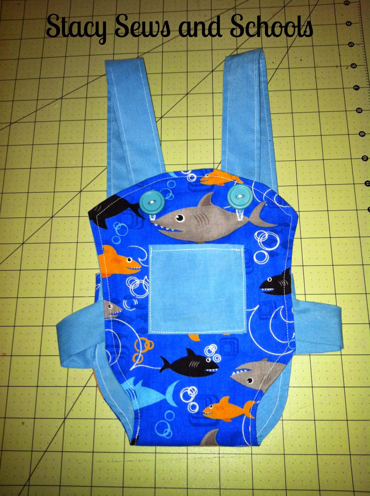 DIY Toddler Carrier  Stacy Sews and Schools DIY Doll Carrier