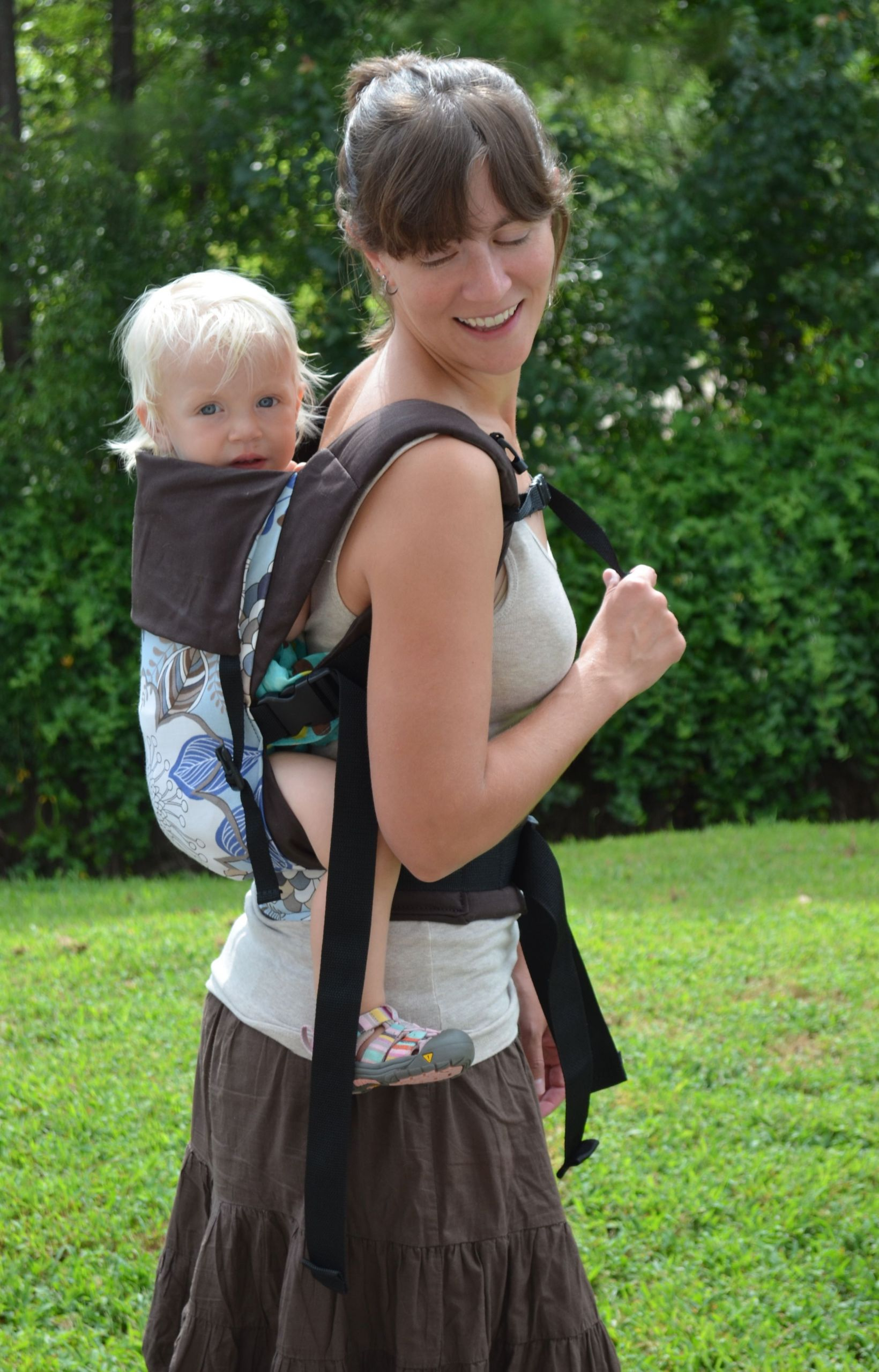 DIY Toddler Carrier  Soft Structured Buckle Carriers Be ing Mamas
