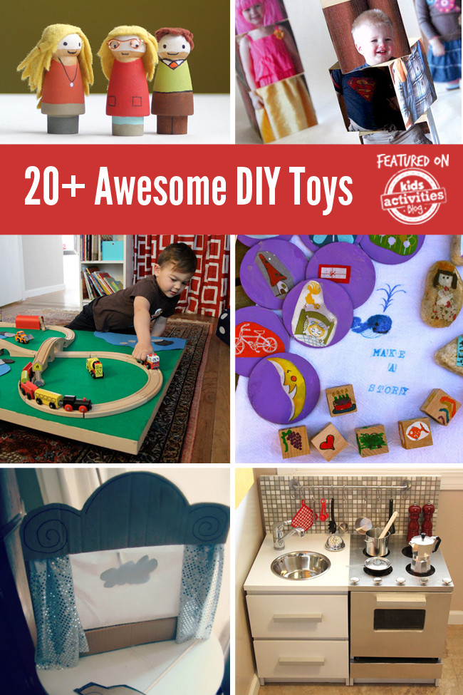 DIY Toddler Toys  20 Awesome DIY Toys to Make for Your Kids