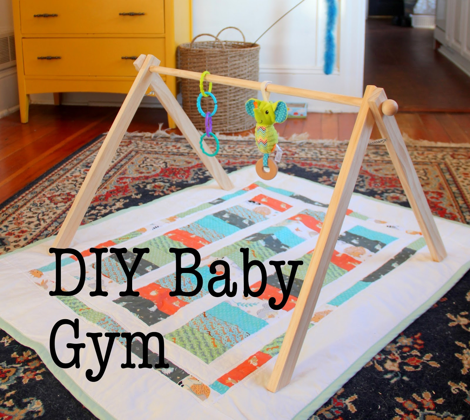 DIY Toddler Toys  15 baby toys that you can make for free