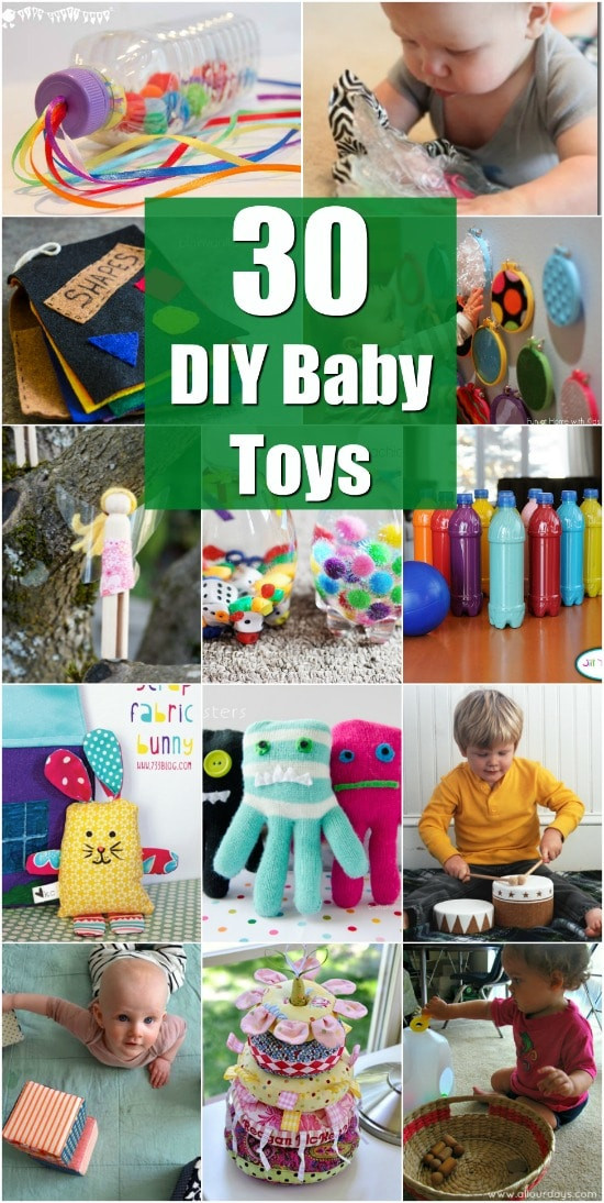 DIY Toddler Toys  30 Fun And Educational Baby Toys You Can DIY In Your Spare