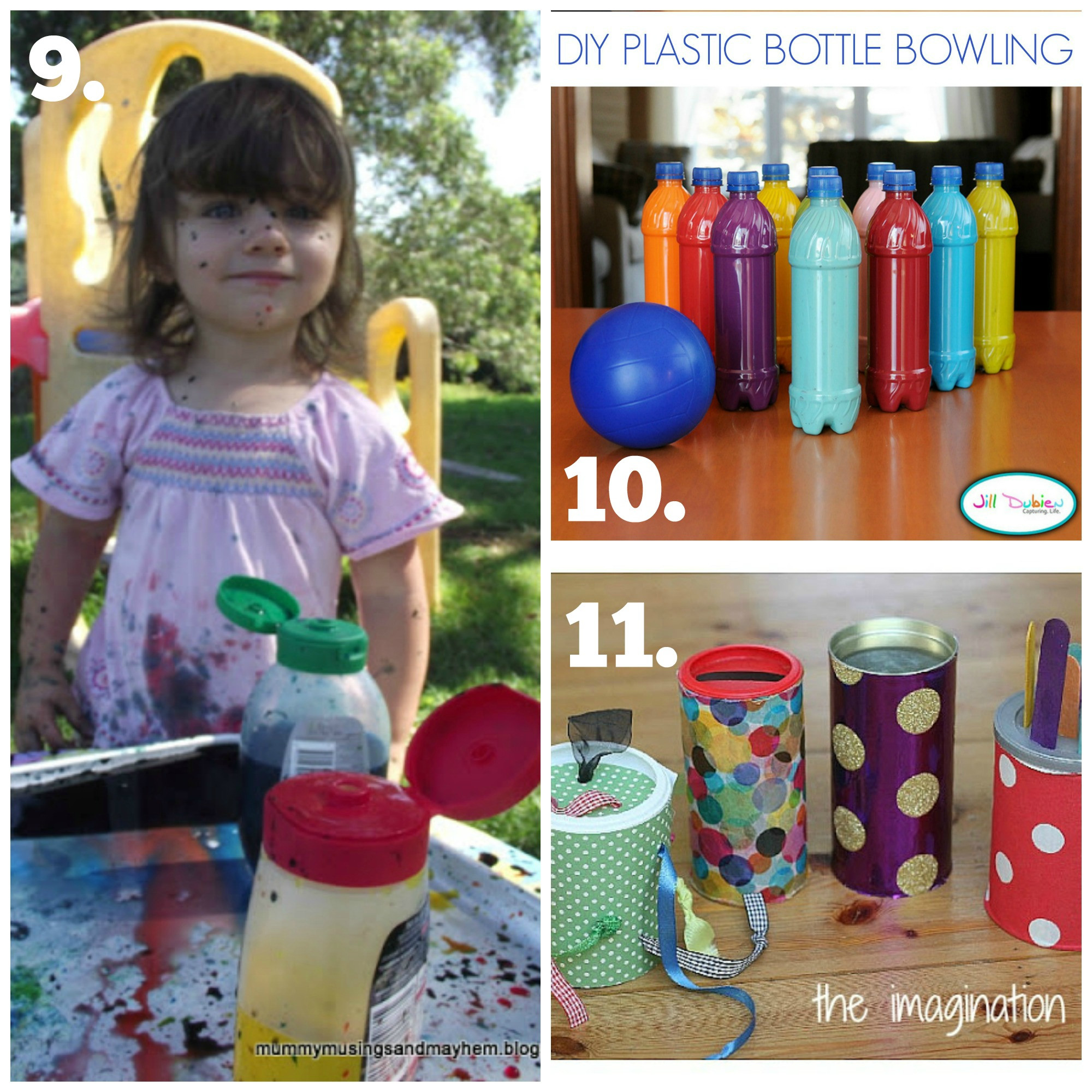 DIY Toddler Toys  Recycled Play Series DIY Baby & Toddler Toys The