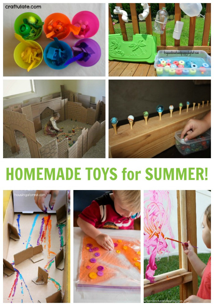 DIY Toys For Kids  25 Cute and Easy Homemade Kids Toys for Summer Fun