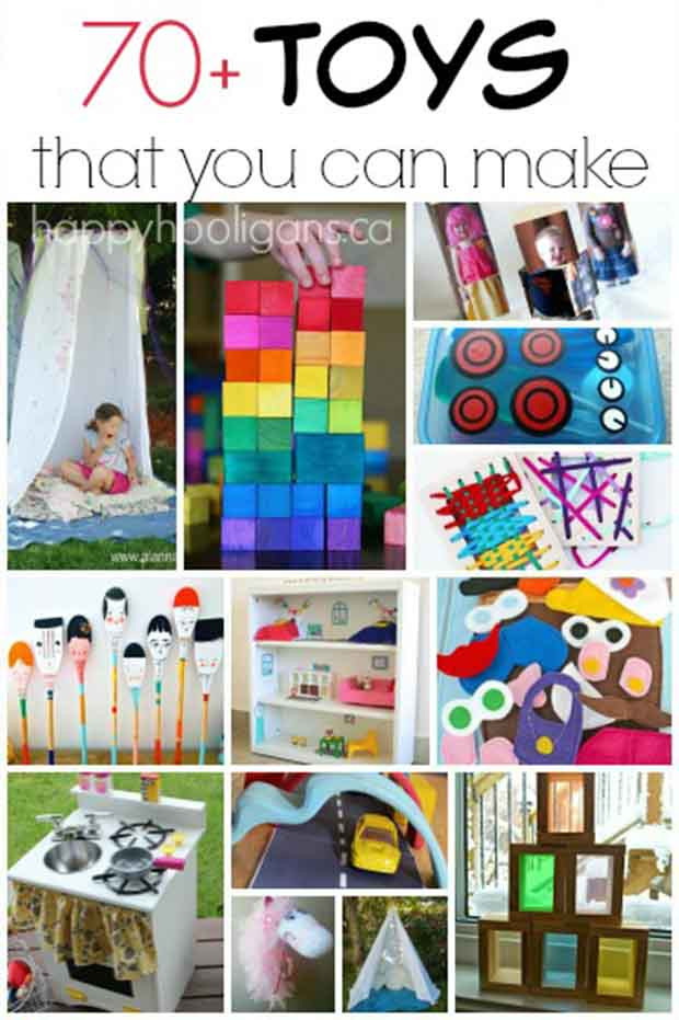DIY Toys For Kids  70 Homemade Toys to Make for Kids Lil Moo Creations