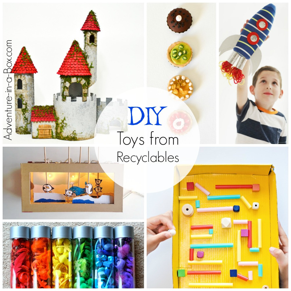 DIY Toys For Kids  DIY Toys for Kids from Recyclable Materials Adventure in