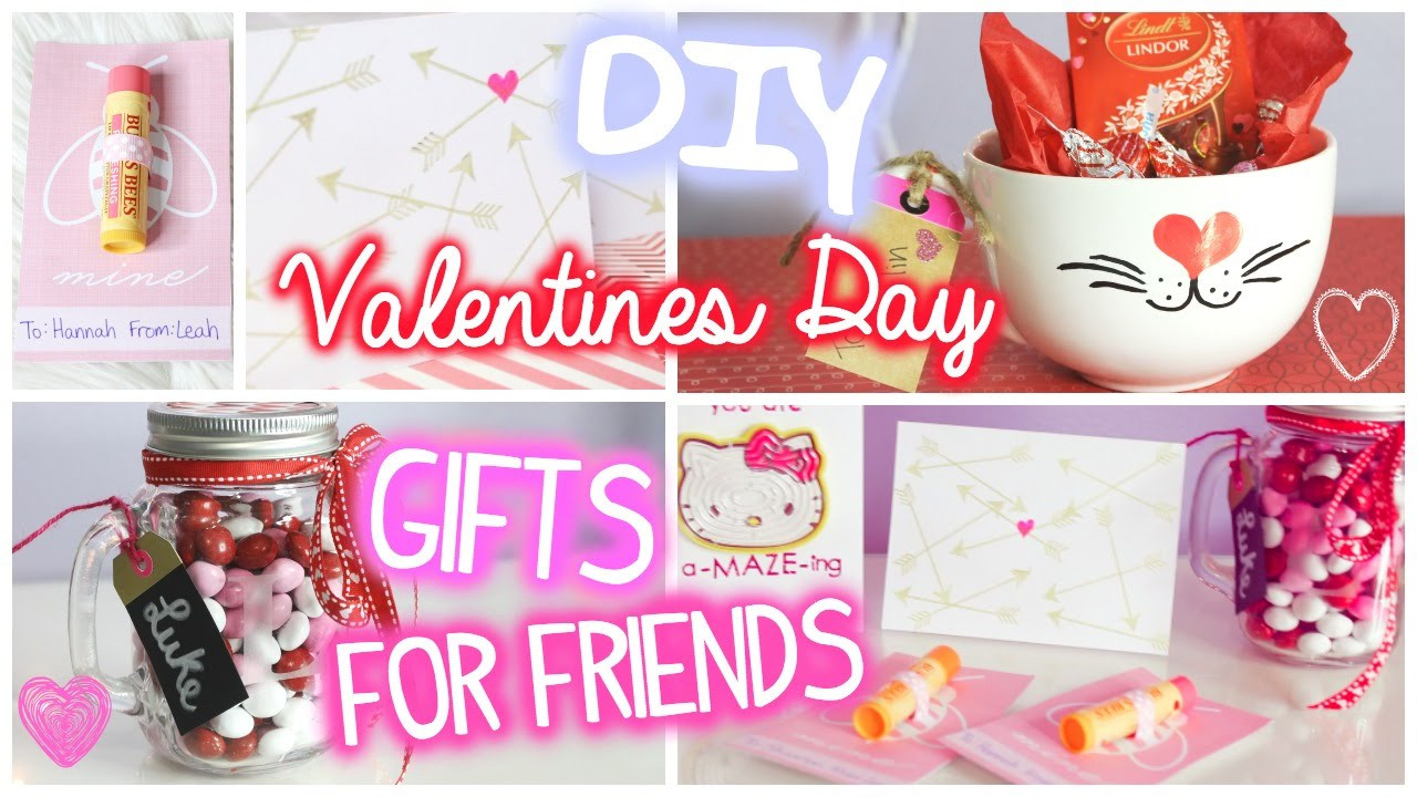DIY Valentine'S Gifts For Friends  Valentines Day Gifts for Friends 5 DIY Ideas