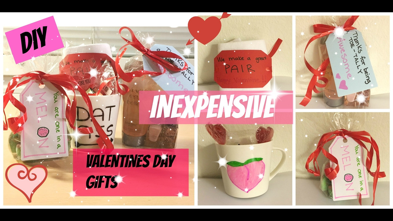 DIY Valentine'S Gifts For Friends  DIY inexpensive Valentines day ts to boyfriend