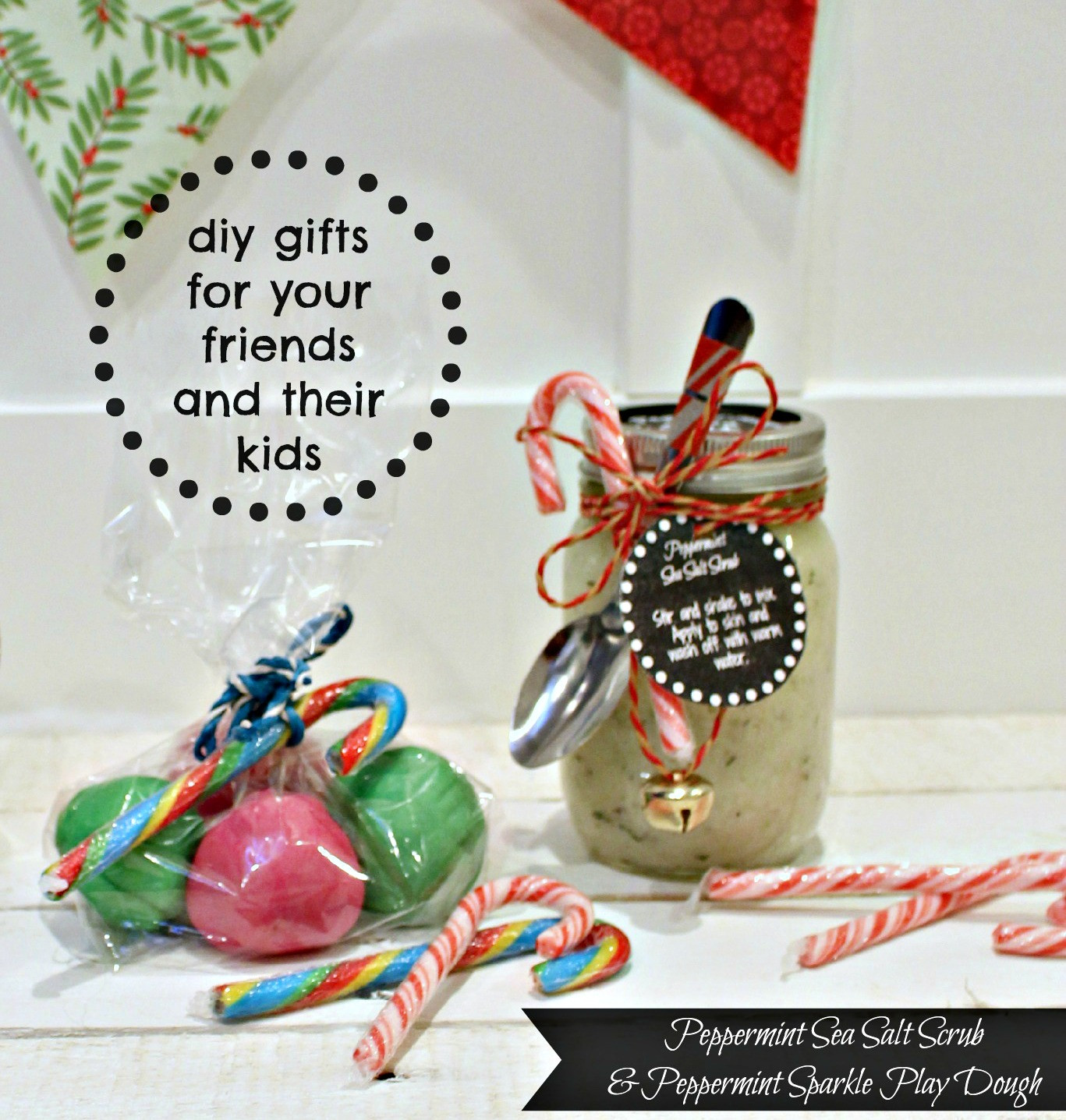 DIY Valentine'S Gifts For Friends  DIY Peppermint Sea Salt Scrub and Peppermint Sparkle