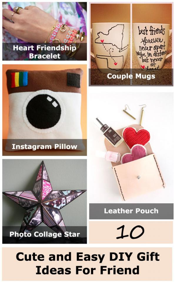DIY Valentine'S Gifts For Friends  10 Cute And Easy DIY Gift Ideas For Friend by Adam Woźniak