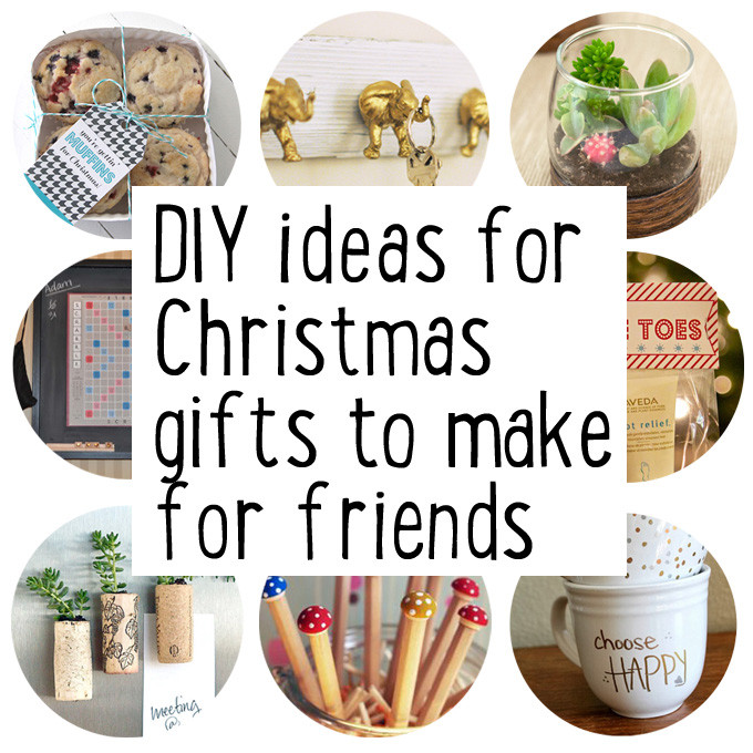 DIY Valentine'S Gifts For Friends  Make some Christmas ts for friends Maxabella Loves