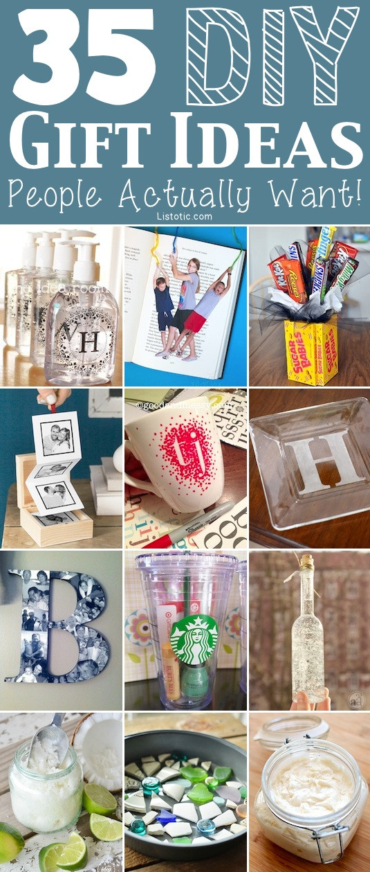 DIY Valentine'S Gifts For Friends  35 Easy DIY Gift Ideas People Actually Want for