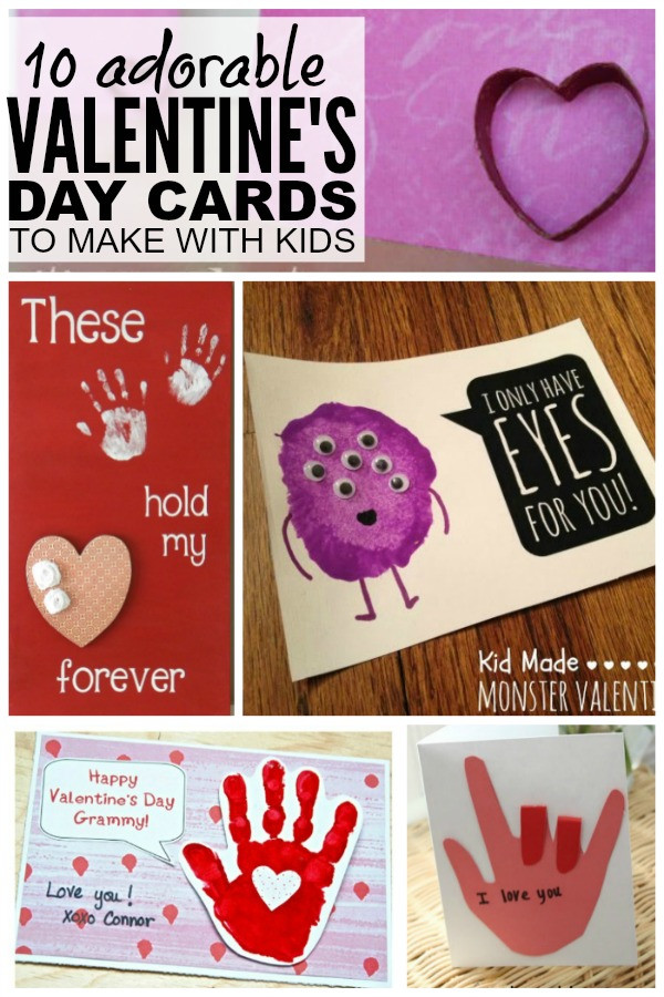 DIY Valentines Cards Kids  10 adorable DIY Valentine s Day cards to make with your kids