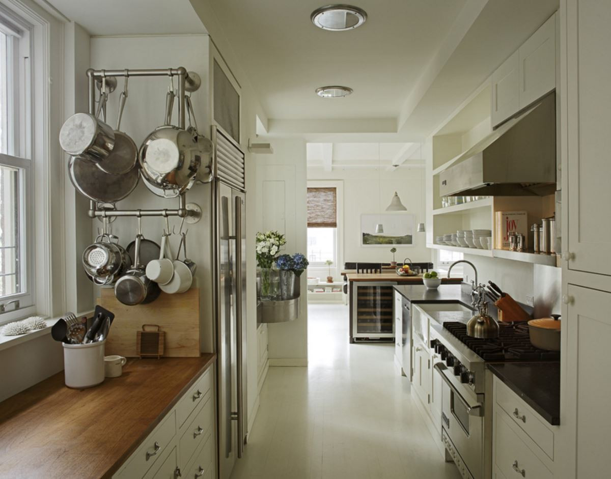 DIY Wall Mount Pot Rack  Stainless Steel Pots for the Modern Kitchen