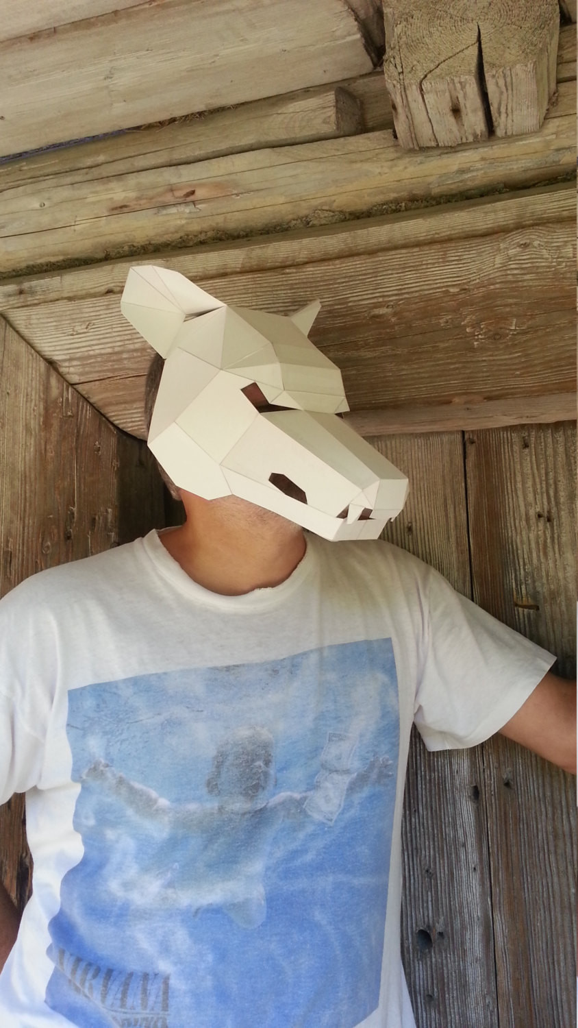DIY Wolf Mask  DIY Halloween mask Wolf mask make your own wolf by