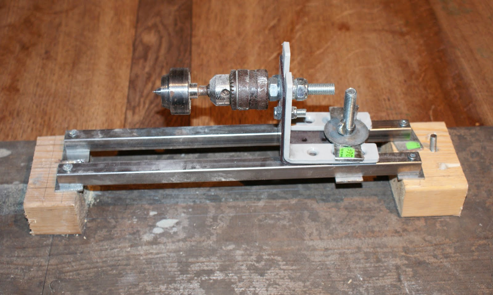 DIY Wood Lathe  Woodwork Wood Lathe Homemade PDF Plans