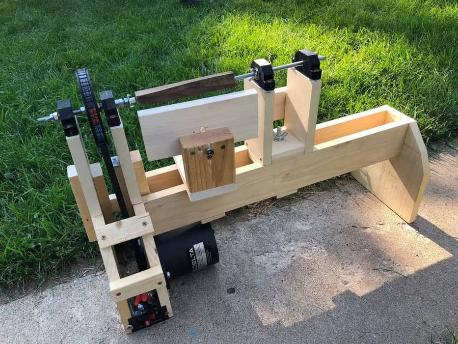 DIY Wood Lathe  9 Homemade Wood Lathes Plans You Can DIY Easily