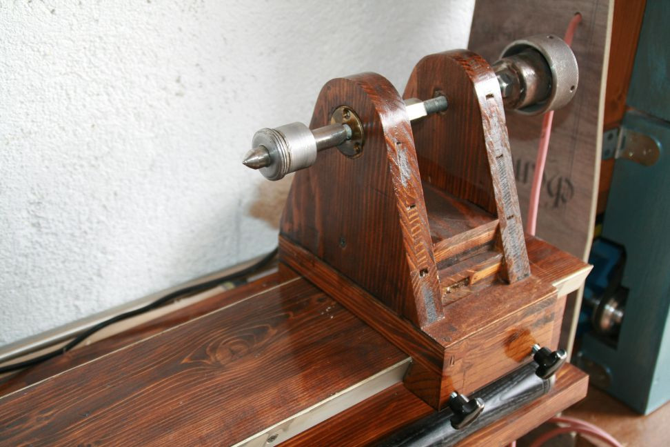 DIY Wood Lathe  Homemade lathe