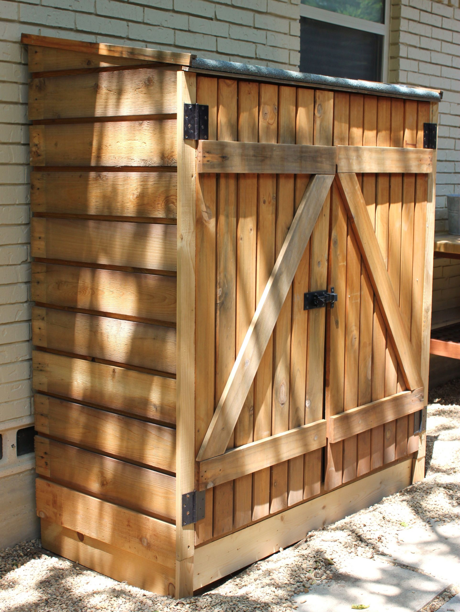 DIY Wood Storage Shed  Tool Shed Updates