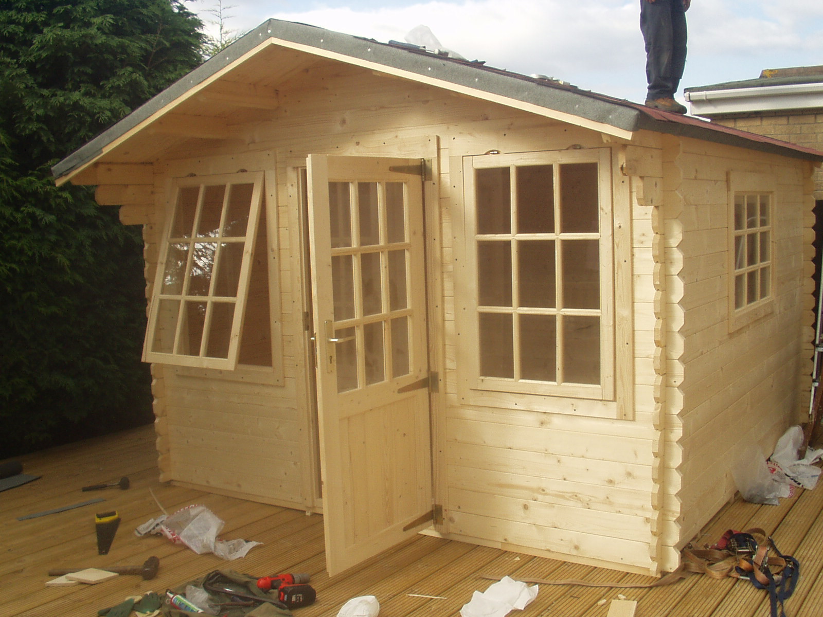 DIY Wood Storage Shed  Shed Diy Build Backyard Sheds Has Your Free Tool Shed
