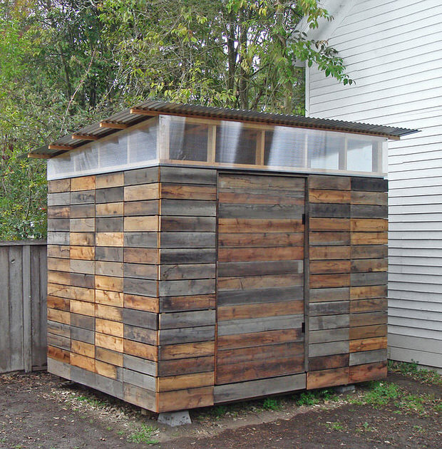 DIY Wood Storage Shed  Small Storage Sheds • Ideas & Projects