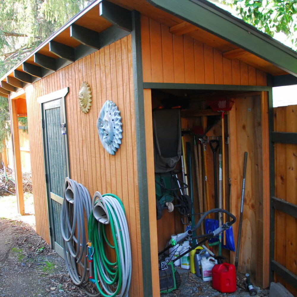 DIY Wood Storage Shed  DIY Wood Shed With Critter proof Foundation